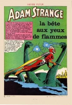 Extrait de Monde futur (2e série - Arédit) -8- Adam Strange : la bête aux yeux de flamme