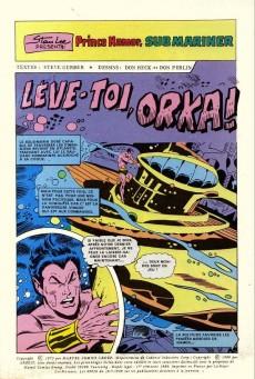 Extrait de Namor -7- Le combat de Submariner / Lève-toi, Orka !
