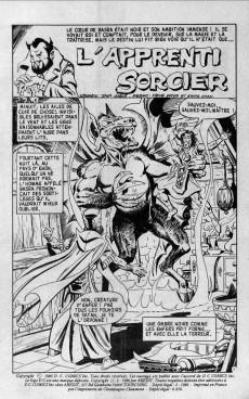 Extrait de Névrose (2e série - Arédit- Comics DC Pocket puis Arédit DC) -6- L'apprenti sorcier