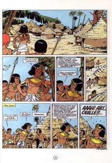 Extrait de Papyrus -10- La pyramide noire