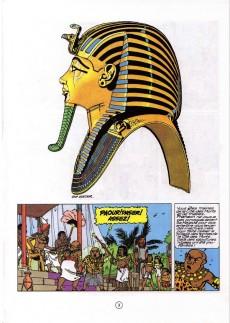 Extrait de Papyrus -17- Toutankhamon le pharaon assassiné