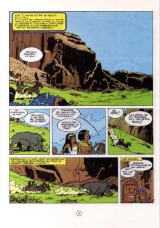 Extrait de Papyrus -3- Le colosse sans visage