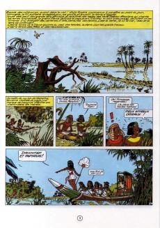 Extrait de Papyrus -8- La métamorphose d'Imhotep