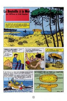 Extrait de La patrouille des Castors -5- La bouteille à la mer