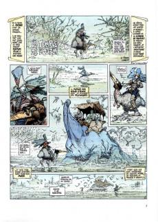 Extrait de La quête de l'oiseau du temps -2c1998- Le temple de l'oubli