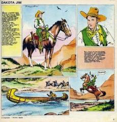 Extrait de Parade de la bande dessinée -1- Dakota Jim