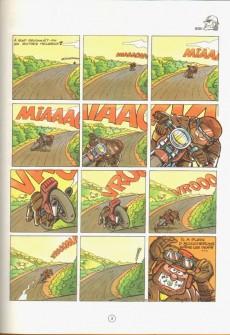 Extrait de Les motards -2- Et les motards, mon cher Watson...