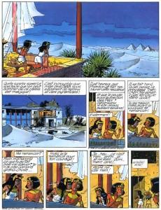 Extrait de Papyrus -21- Le talisman de la grande pyramide
