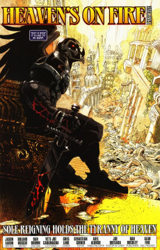 Extrait de Ghost Riders: Heaven's on Fire (Marvel - 2009) -5- Heaven's on fire part 5 : sole reigning holds the tyranny of heaven