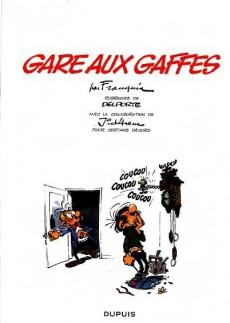 Extrait de Gaston (2009) -6- Gare aux gaffes