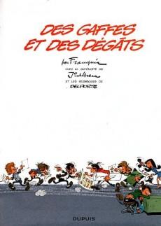 Extrait de Gaston (2009) -7- Des gaffes et des dégâts