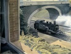 Extrait de Les correspondances de Pierre Christin -3- Trains de plaisir