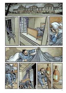 Extrait de L'as de pique (Corbeyran/Guérineau) -1- Vue sur la mort
