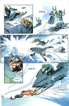 Extrait de James Bond 007: Shattered Helix (Dark Horse - 1994) -2- A cold day in hell