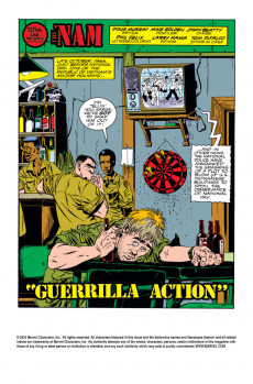 Extrait de 'Nam (The) (Marvel - 1986) -10- Guerilla action