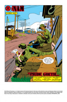 Extrait de 'Nam (The) (Marvel - 1986) -9- Pride goeth