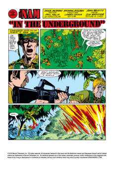 Extrait de 'Nam (The) (Marvel - 1986) -8- In the underground