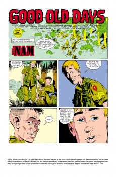 Extrait de 'Nam (The) (Marvel - 1986) -7- Good old days