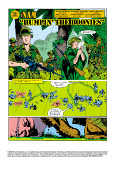 Extrait de 'Nam (The) (Marvel - 1986) -5- Humpin' the boonies