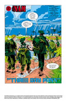 Extrait de 'Nam (The) (Marvel - 1986) -3- Three day pass