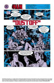 Extrait de 'Nam (The) (Marvel - 1986) -2- Dust off