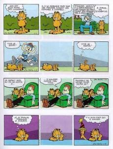 Extrait de Garfield -25- Garfield est sur la mauvaise pente