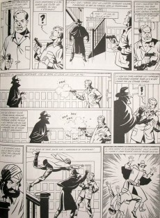 Extrait de Blake et Mortimer -6TLa- La Marque jaune