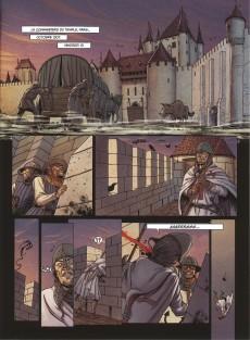 Extrait de Le dernier Templier -2- Le chevalier de la crypte