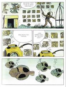 Extrait de Corto (Casterman chronologique) -29- Mu: la Cité perdue