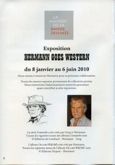 Extrait de (AUT) Hermann - Hermann goes Western
