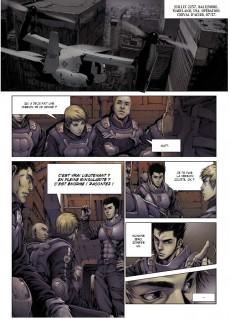Extrait de Les légions de la haine -1- Cheval d'acier