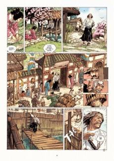 Extrait de Samurai -5- L'Île sans nom