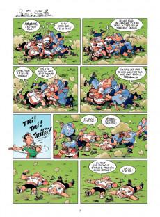 Extrait de Les rugbymen -8- En face, ils ont 15 bras et 15 jambes, comme nous !
