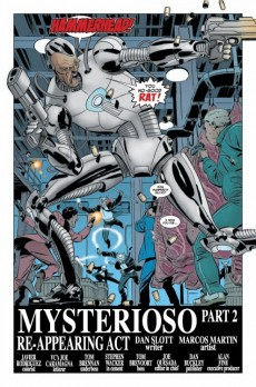 Extrait de Amazing Spider-Man (The) (1963) -619- Mysterioso (Part 2) : Re-Appearing act