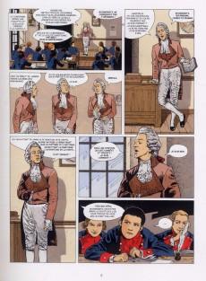 Extrait de Jacques Martin présente -4- Napoléon Bonaparte - Tome 1
