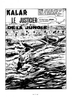 Extrait de Kalar -1- Le justicier de la jungle