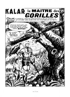 Extrait de Kalar -3- Le maître des gorilles