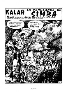 Extrait de Kalar -4- La vengeance de simba