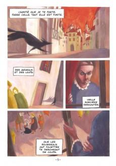 Extrait de Poèmes en bandes dessinées - Pierre de Ronsard - Les Poèmes en BD