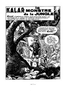 Extrait de Kalar -6- Le monstre de la jungle
