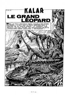 Extrait de Kalar -16- Le grand léopard
