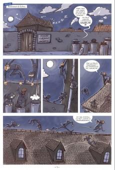 Extrait de La guerre des Boutons (Vernay/Khaz) -4- La rentrée des claques