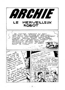 Extrait de Archie (Le merveilleux robot) -1- Archie, le merveilleux robot
