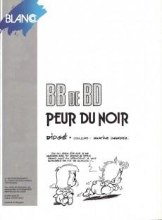 Extrait de BB de BD -3- Peur du noir