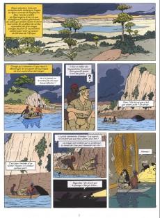 Extrait de Blake et Mortimer -18TL2- Le sanctuaire du Gondwana