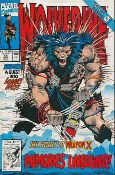 Extrait de Wolverine (l'intégrale) -4- Wolverine : l'intégrale 1991