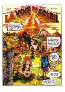Extrait de ElfQuest - La Fantastique quête des elfes -5- La voix du soleil