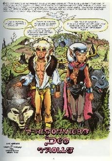 Extrait de ElfQuest - La Fantastique quête des elfes -7- Prisonniers des trolls