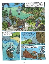 Extrait de Marine (Corteggiani/Tranchand) -3- Le trésor du caïman