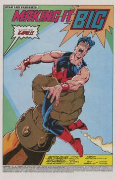 Extrait de Wonder Man (Marvel Comics - 1991) -1- Making it big